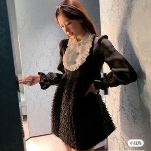 2020 MiuMiu limited black dress